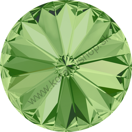 Swarovski elements RIVOLI 1122 - SS 47 (10 mm) - Peridot F