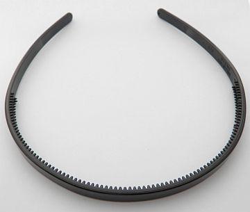 Plastová čelenka - 8 mm - čierna - 1ks fa138e903b