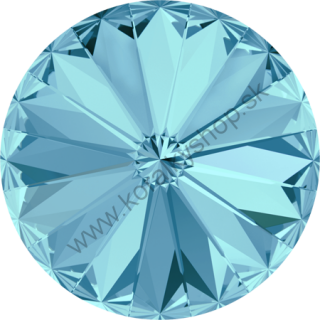 Swarovski elements RIVOLI 1122 - SS 39 (8 mm) - Aquamarine F