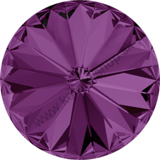 Swarovski elements RIVOLI 1122 - SS 39 (8 mm) - Amethyst F