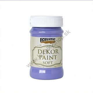 Dekor Paint Soft - fialová - 100 ml