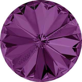 Swarovski elements RIVOLI 1122 - 12 mm - Amethyst F