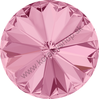 Swarovski elements RIVOLI 1122 - 12 mm - Light Rose F