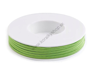 Šujtaš 3 mm - Bright LimeGreen  - 1 m