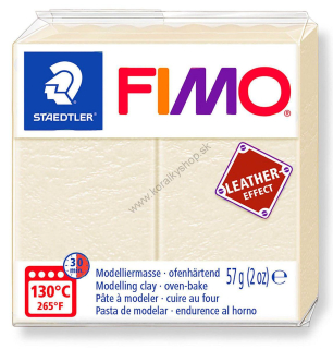 FIMO Leather - slonovinová - 57 g