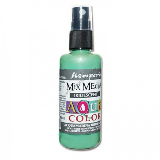 Aquacolor sprej - Iridescent acquamarine - 60 ml