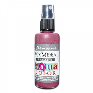 Aquacolor sprej - Iridescent antique pink - 60 ml