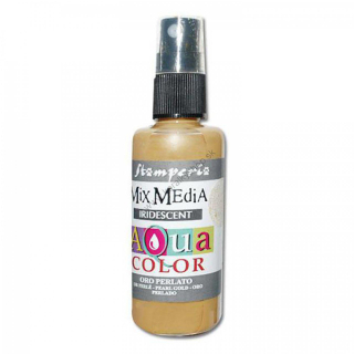 Aquacolor sprej - Pearl gold - 60 ml
