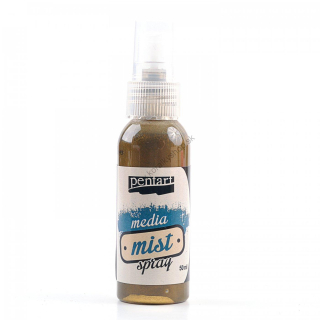 Media Mist Spray - antická zlatá - 50 ml