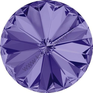 Swarovski elements RIVOLI 1122 - SS 39 (8 mm) - Tanzanite F