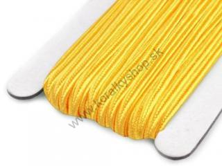 Šujtaš 3 mm - Cyber Yellow - 1 m