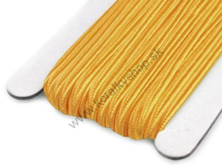 Šujtaš 3 mm - Blazing Yellow - 1 m