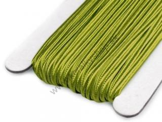 Šujtaš 3 mm - Spinach Green - 1 m