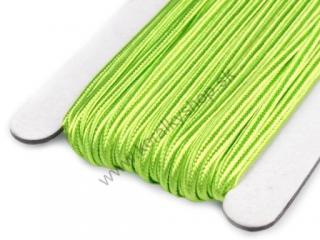 Šujtaš 3 mm - Sap Green - 1 m